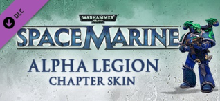 Купить Warhammer 40,000: Space Marine - Alpha Legion Champion Armour Set