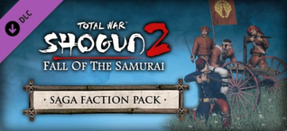 Купить Total War: SHOGUN 2 - Fall of the Samurai - Saga Faction Pack DLC