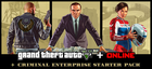 Купить Grand Theft Auto V + Criminal Enterprise Starter Pack