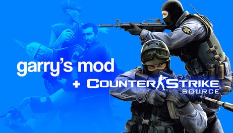 Купить Counter-Strike: Source & Garrys Mod
