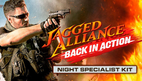 Купить Jagged Alliance - Back in Action: Night Specialist Kit