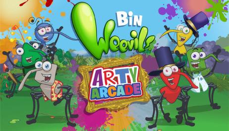 Купить Bin Weevils Arty Arcade