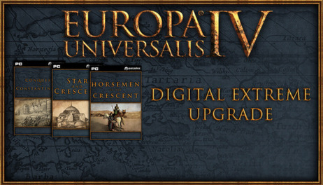 Купить Europa Universalis IV: Digital Extreme Edition Upgrade Pack