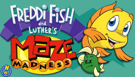Купить Freddi Fish and Luther's Maze Madness