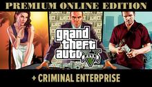 Grand Theft Auto V + Premium + Online