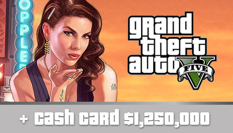 Купить Grand Theft Auto V + Online + $1,250,000