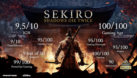 Купить Sekiro: Shadows Die Twice