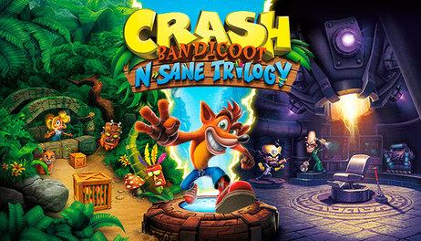 Купить Crash Bandicoot N. Sane Trilogy GLOBAL