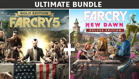 Купить Far Cry 5 Gold Edition + Far Cry New Dawn Deluxe Edition Bundle
