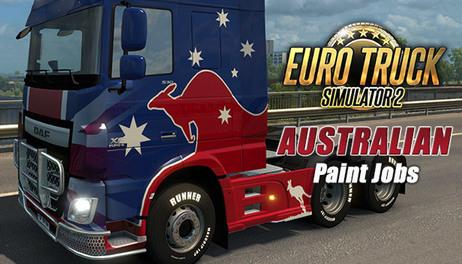 Купить Euro Truck Simulator 2 - Australian Paint Jobs Pack