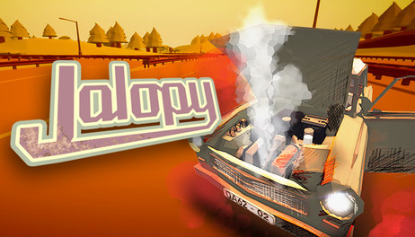 Купить Jalopy - Road Trip Car Driving Simulator Indie Game