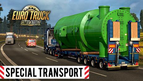Купить Euro Truck Simulator 2 - Special Transport