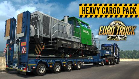 Купить Euro Truck Simulator 2 - Heavy Cargo Pack