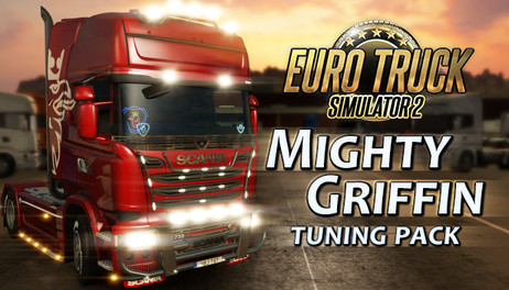 Купить Euro Truck Simulator 2 - Mighty Griffin Tuning Pack