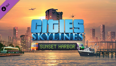 Купить Cities: Skylines - Sunset Harbor