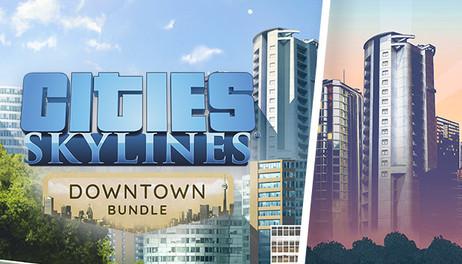 Купить Cities: Skylines - Downtown Bundle