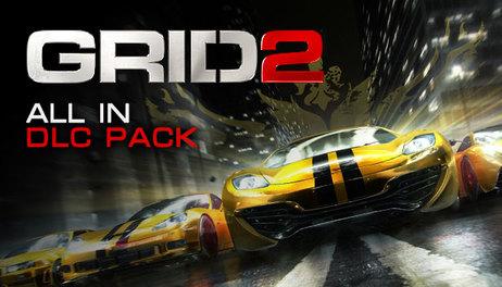 Купить GRID 2 All In DLC Pack