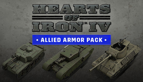 Купить Hearts of Iron IV: Allied Armor Pack