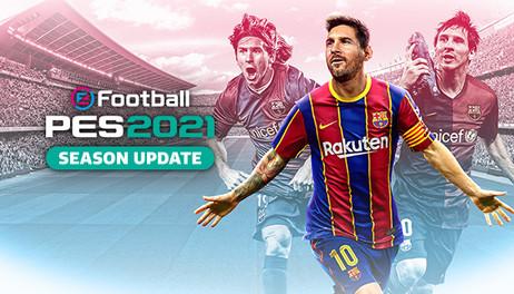 Купить eFootball PES 2021 SEASON UPDATE STANDARD EDITION