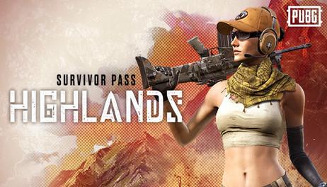 Купить PLAYERUNKNOWN'S BATTLEGROUNDS Survivor Pass: Highlands