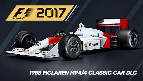 Купить F1 2017 '1988 McLAREN MP4/4 CLASSIC CAR DLC'