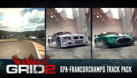 Купить GRID 2 - Spa-Francorchamps Track Pack
