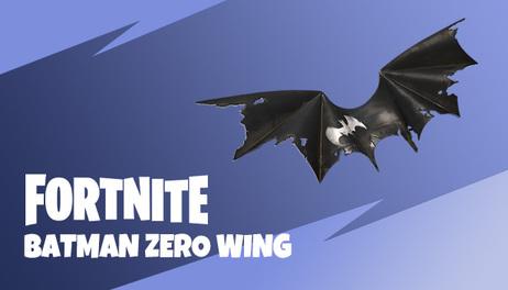 Купить Fortnite - Batman Zero Wing Glider