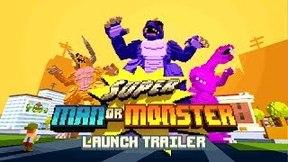 Купить Super Man Or Monster