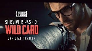 Купить PLAYERUNKNOWN'S BATTLEGROUNDS: Survivor Pass 3: Wild Card