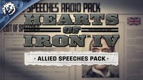 Купить Hearts of Iron IV: Allied Speeches Music Pack
