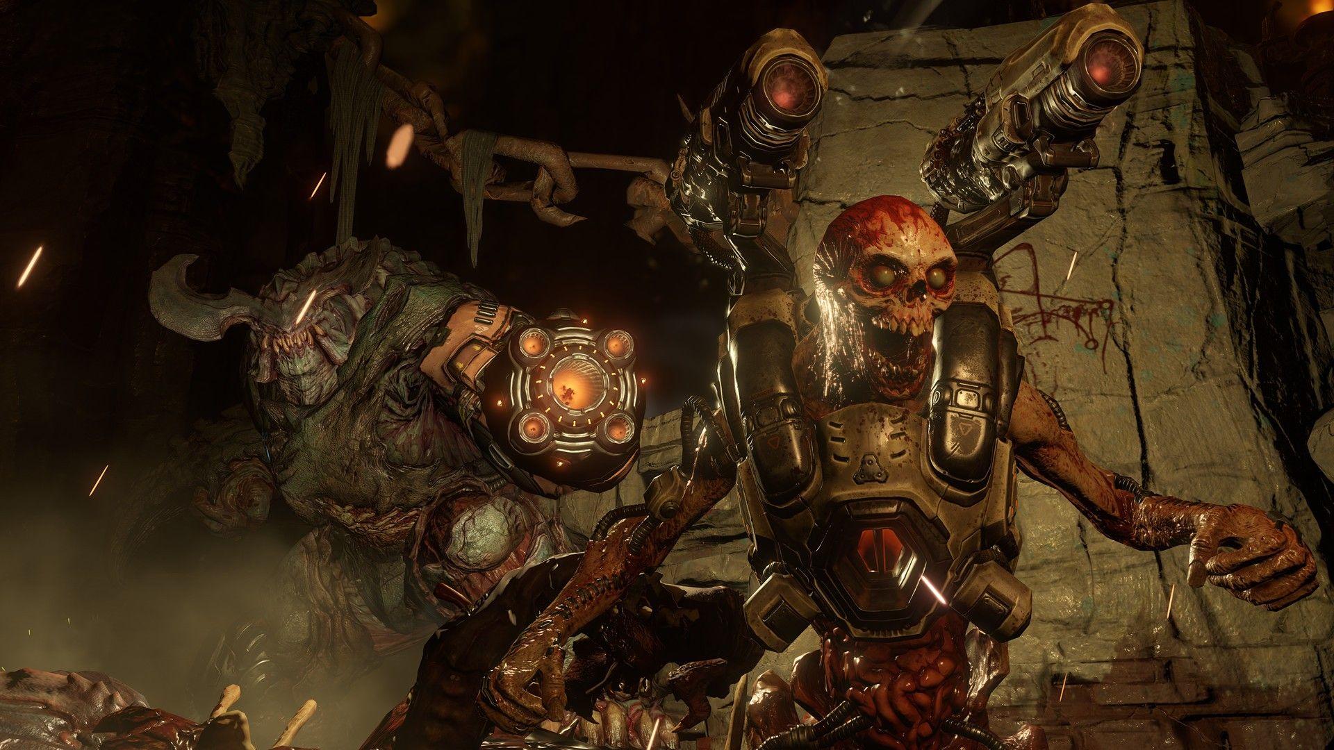 Скриншоты игры DOOM