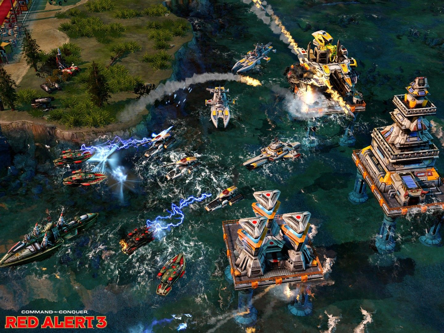 Command  conquer: red alert 3 uprising command  conquer: red alert 3 uprising